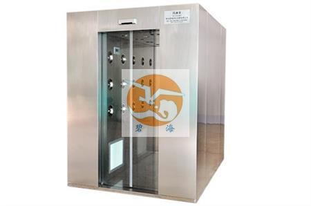沧州中本华翔新型材料采购我司自动门不锈钢风淋室